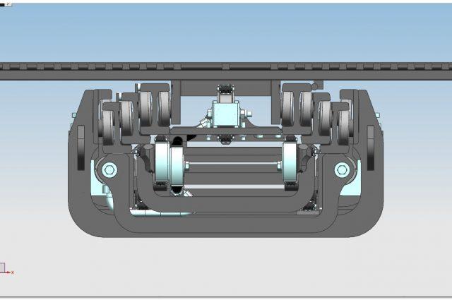 F13QV rear cylinders