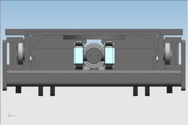 F120MONO - centre cylinder