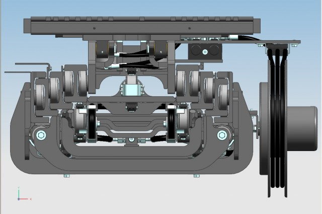 3 CYL. F25QV - rear cylinders