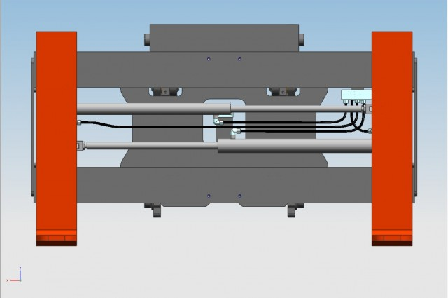 FEM 4 tilting fork positioner