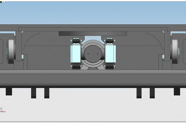 E100 MONO central cylinder
