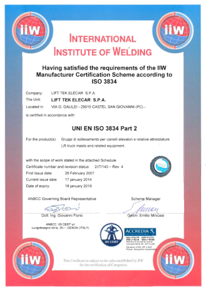 international welding