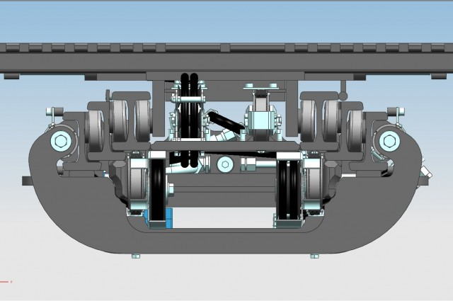 F13TV - Side cylinders