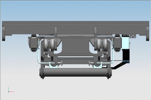4 CYL. F320DV - rear cylinders