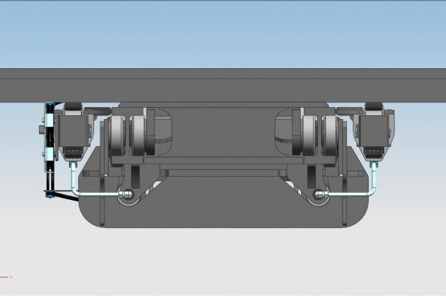 4 CYL. F420DV - rear cylinders