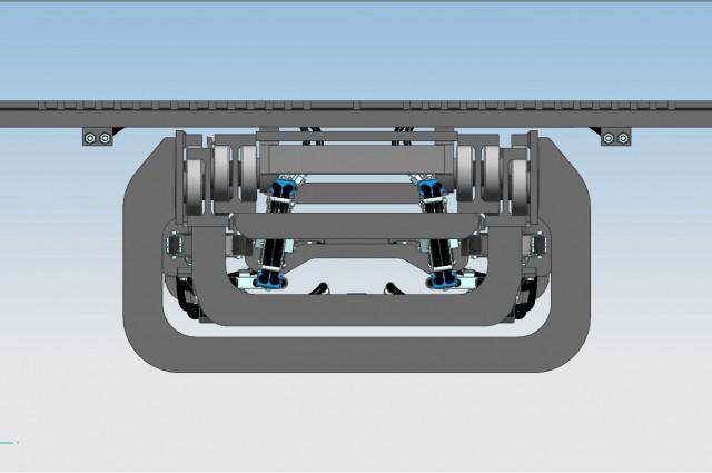 F90TV 4 CIL. - cilindri d'elevazione posteriori