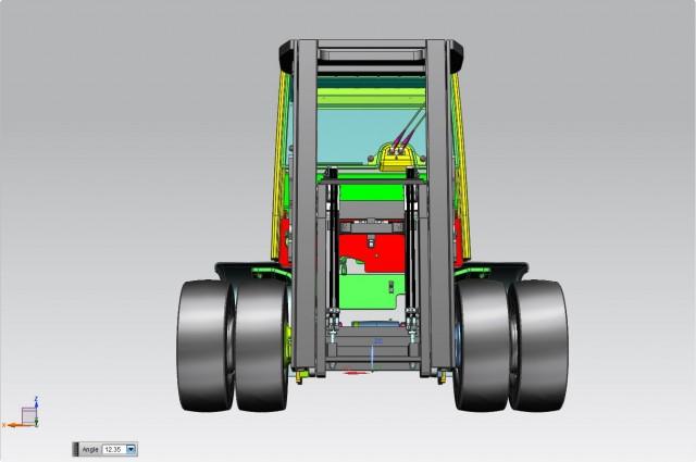 4 CYL. F90DV - rear cylinders