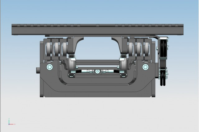 2 CYL. TVS - rear cylinders - external reeving