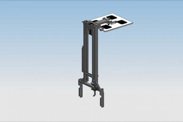 Electric load stabilizer - open