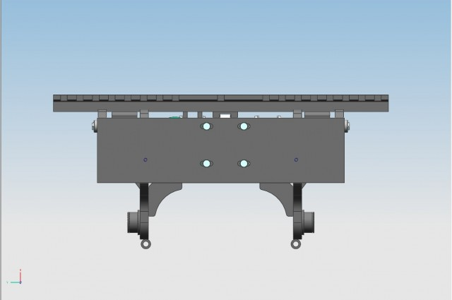 Electric tilting carriage
