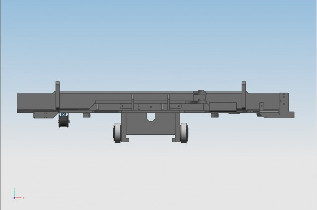 Base carriage for spreader