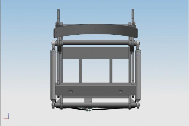 Tilting carriage