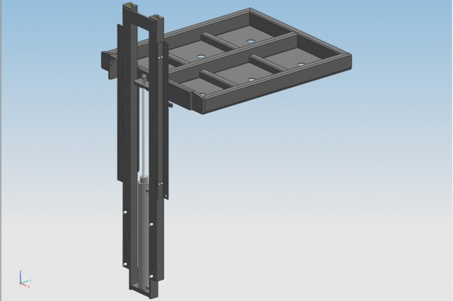 Load stabilizer - open