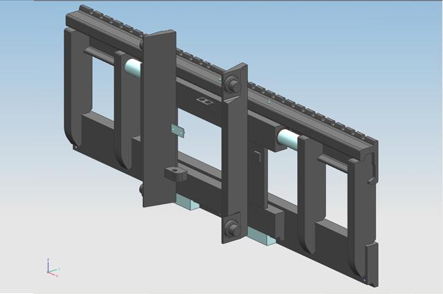 FEM3 Side-shifter - 3500kg @ 500mm