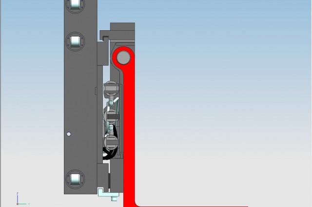 TRASLATORE POSIZIONATORE PIN TYPE 8000kg @ 600mm