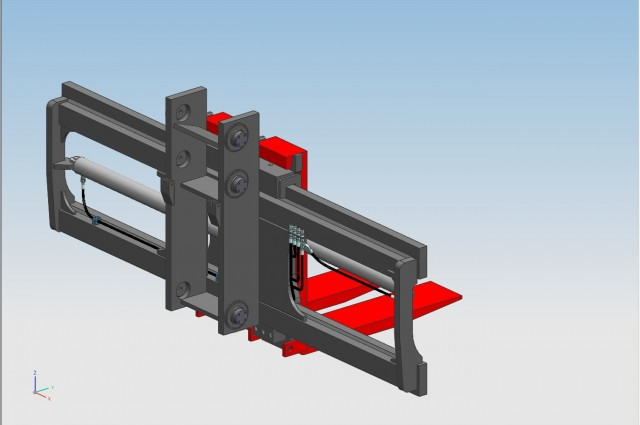 TW Side-shifter and fork positioner - HOOK TYPE