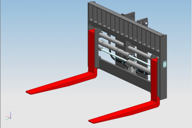 TW Side-shifter and fork positioner - PIN TYPE