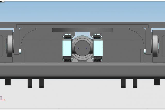 E100 MONO cilindro centrale