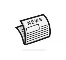 newspaper vector illustration logo icon clipart